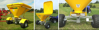ATV Agrispred Spreader Systems