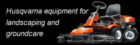 Husqvarna wheeled and handheld equipment for commercial landscaping and groundcare